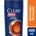 Shampoo Anticaspa Clear Men Queda Control 2  Onofre.com Foto 1