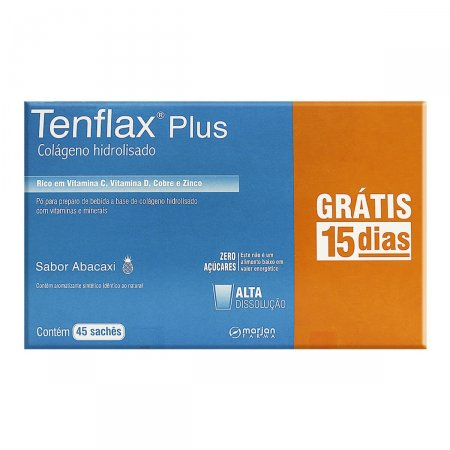 Colágeno Hidrolisado Tenflax Plus