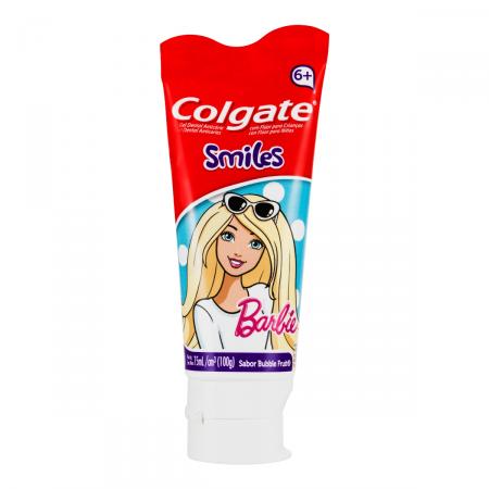 Gel Dental Colgate Junior Barbie 100g