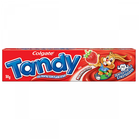 Creme Dental Tandy Morango 50g