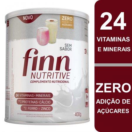 Complemento Nutricional Finn Nutritive Sem Sabor com 400g