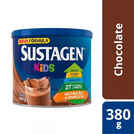 Complemento Alimentar Infantil Sustagen Kids Sabor Chocolate 380g | Onofre.com Foto 2