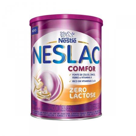 Composto Lácteo Neslac Comfor Zero Lactose 800g | Drogaraia.com Foto 1