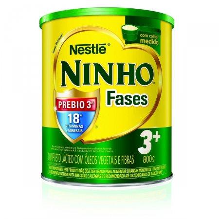 Composto Lácteo NINHO Fases 3+ 800g
