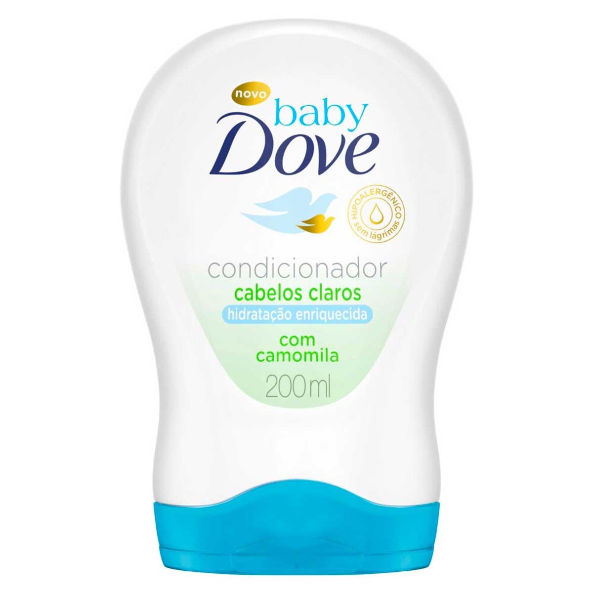 Condicionador Baby Dove Hidratação Enriquecida Cabelos Claros 200ml 200ml