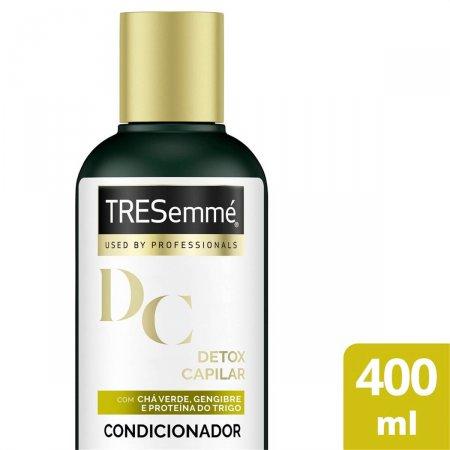 Condicionador TRESemmé Detox Capilar com 400ml