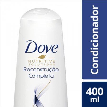Condicionador Dove Reconstrução Completa para Cabelos Danificados 400ml