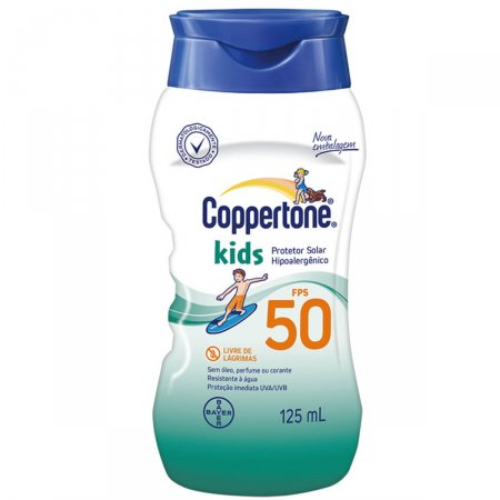 Protetor Solar Corporal Coppertone Kids FPS50 125ml