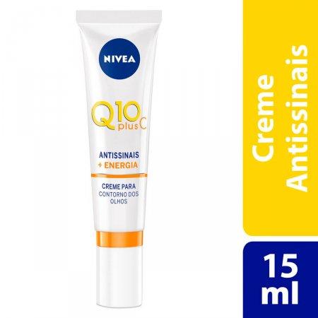 Creme Antissinais Contorno dos Olhos Nivea Q10 Plus C