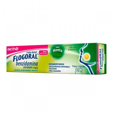Creme Dental Flogoral Menta 70g