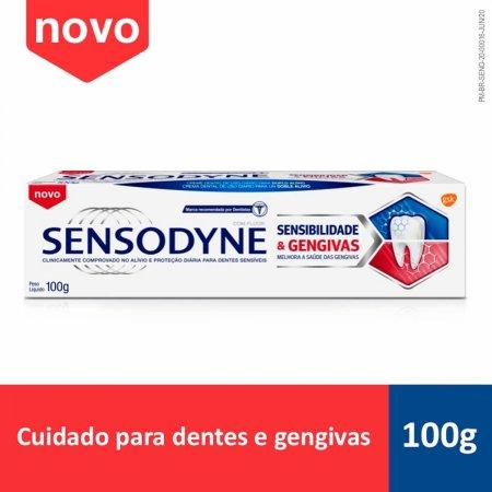 Pasta de Dente Sensodyne Sensibilidade & Gengivas com 100g