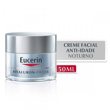 Creme Facial Anti-Idade Eucerin Hyaluron-Filler Noturno com 50g   Foto 2