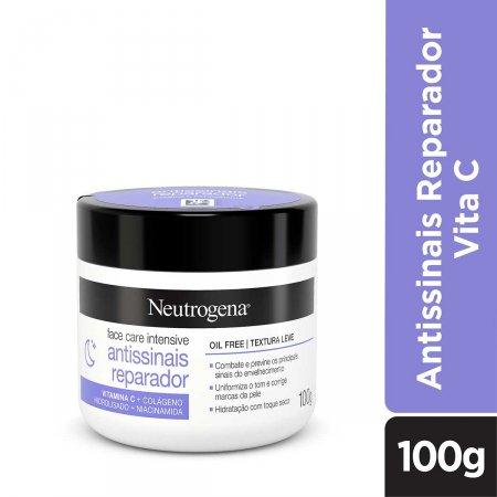 Creme Facial Neutrogena Face Care Intensive Antissinais Reparador com 100g   Foto 2