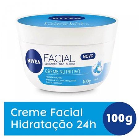 Creme Facial Nivea Nutritivo 100g | Onofre.com Foto 2