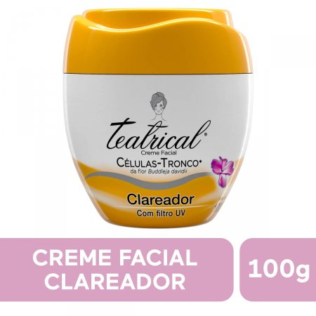 Creme Facial Teatrical Clareador