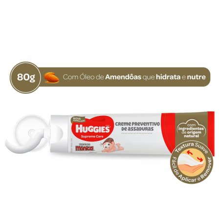 Creme Preventivo de Assaduras Huggies Supreme Care