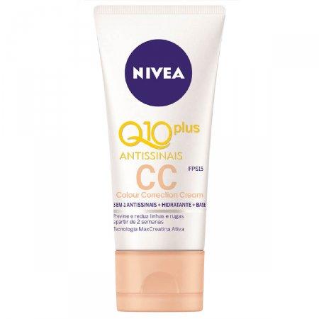 CC Cream Nivea Q10 Plus Antissinais FPS15