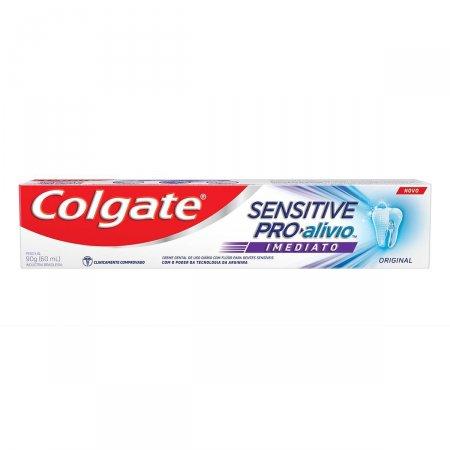 Pasta de Dente Colgate Sensitive Pro-Alívio Imediato Original com 90g