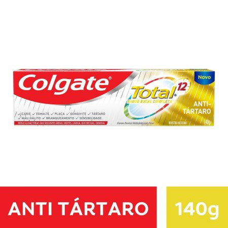 Creme Dental Colgate Total 12 Anti Tártaro