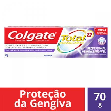 Creme Dental Colgate Total 12 Professional Gum 70g