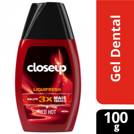 Gel Dental Closeup LiquiFhesh Red Hot