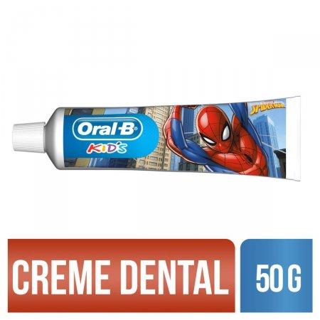 Creme Dental Oral B Kids Spiderman
