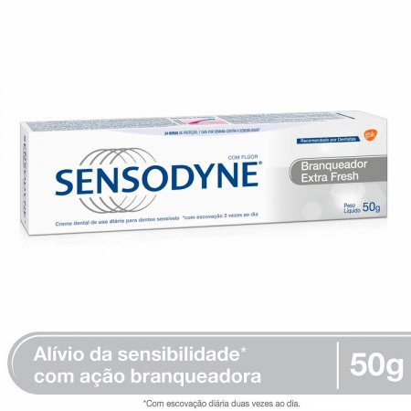 Creme Dental Sensodyne Branqueador Extra Fresh 50g