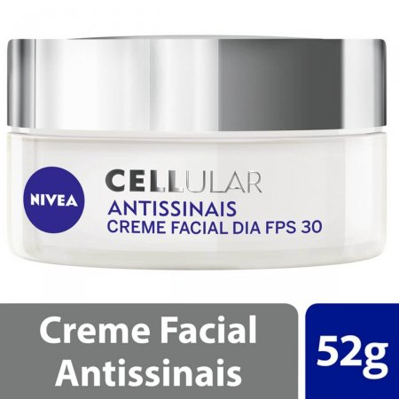 Creme Facial Antissinais Dia Nivea Cellular FPS30