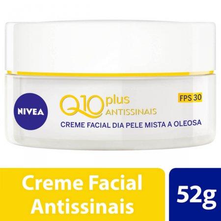 Creme Antirrugas Nivea Visage Q10 Plus Light 50g