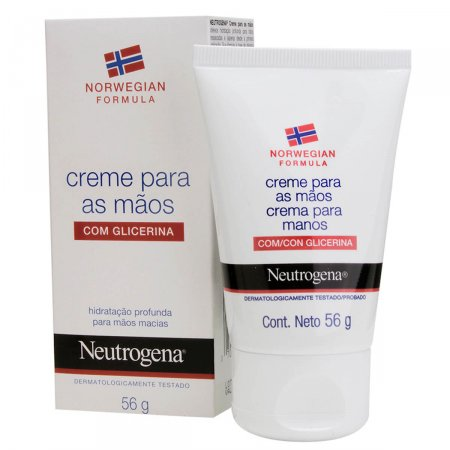 Creme Hidratante para Mãos Neutrogena Norwegian Formula com 56g