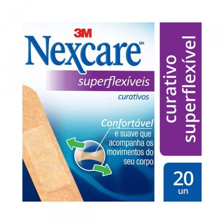 Curativo Nexcare Superflexíveis