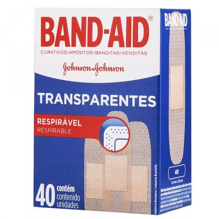 Curativo Band-Aid Transparente