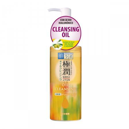Demaquilante Hada Labo Gokujyun Oil Cleansing com 200ml