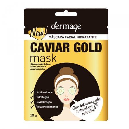 Máscara Facial Dermage Caviar Gold