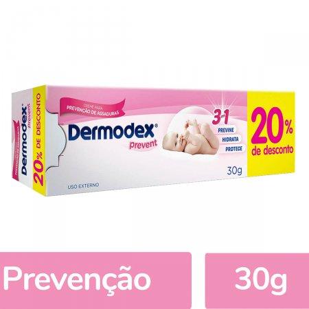 Creme para Prevenção de Assaduras Dermodex Prevent