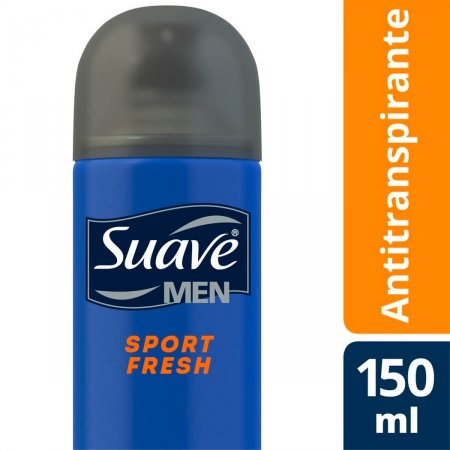 Desodorante Aerosol Suave Men Sport Fresh 150ml |