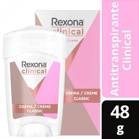 Desodorante Antitranspirante em Creme Rexona Clinical Classic