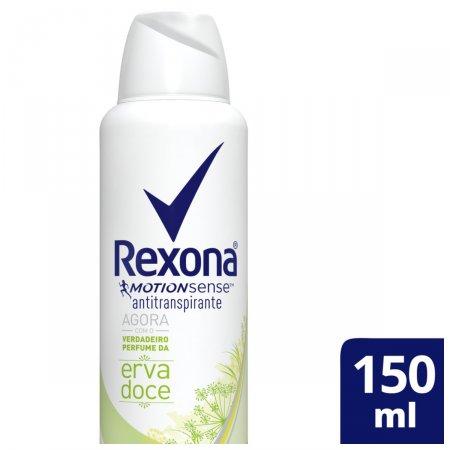Desodorante Antitranspirante Aerosol Rexona Erva Doce