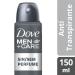 Desodorante Antitranspirante Aerosol Dove Men+Care Sem Perfume 89g   Onofre.com Foto 2