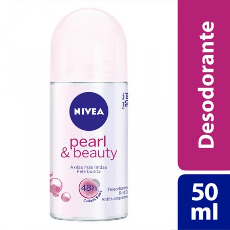 Desodorante Antitranspirante Roll On Nivea Pearl & Beauty