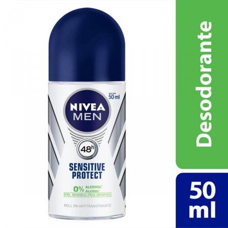 Desodorante Roll on Nivea Sensitive Protect