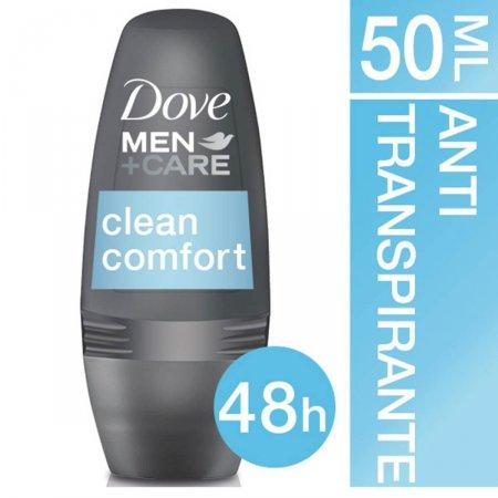 Desodorante Roll-On Dove Men Care Clean Comfort