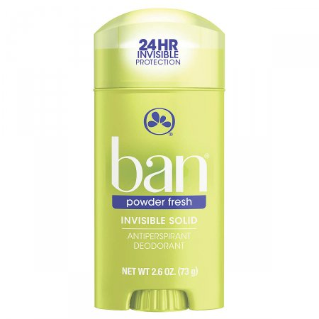 Desodorante Antitranspirante Ban Powder Fresh Sólido Invisível com 73g