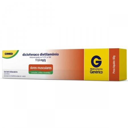 Diclofenaco Dietilamônio Gel