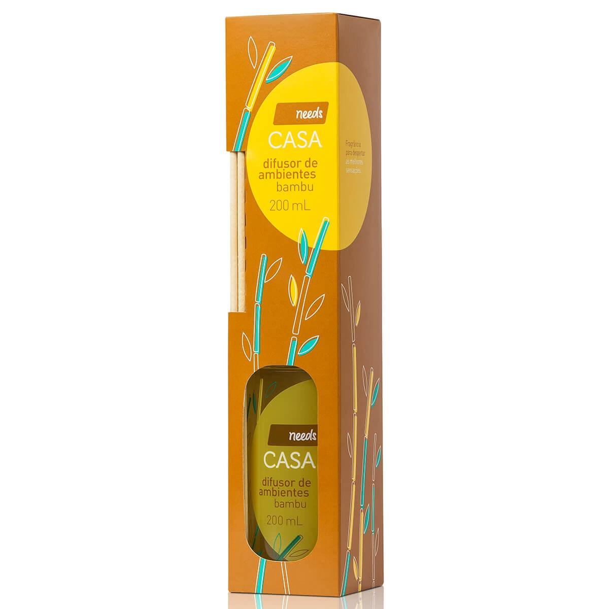 Difusor de Ambientes Needs Casa Bambú 200ml