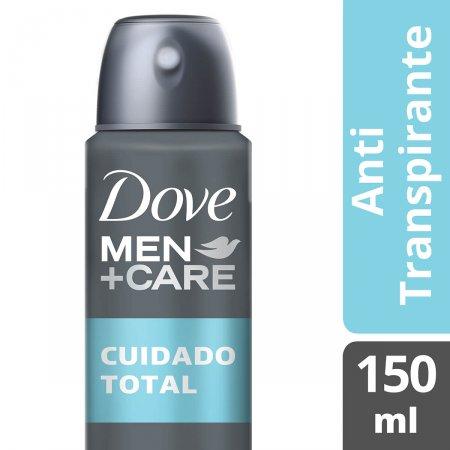 Desodorante Masculino Antitranspirante Aerosol Dove Men +Care Cuidado Total com 150ml