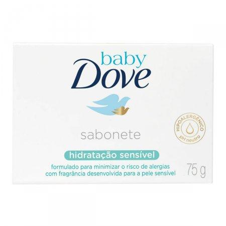 Sabonete em Barra Baby Dove Hidratação Sensível 75g