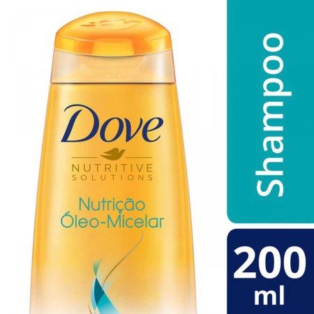Shampoo Dove Nutrição Óleo-Micelar 200ml