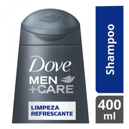 Shampoo Dove Men +Care Limpeza Refrescante com 400ml