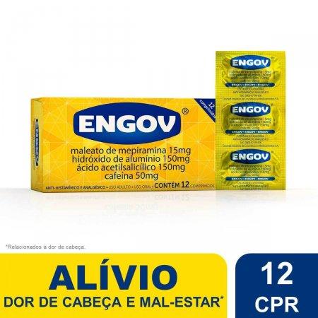 Engov com 12 Comprimidos Foto 2